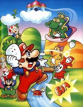 Super Mario Bros  2 (USA) ROM < NES ROMs | Emuparadise