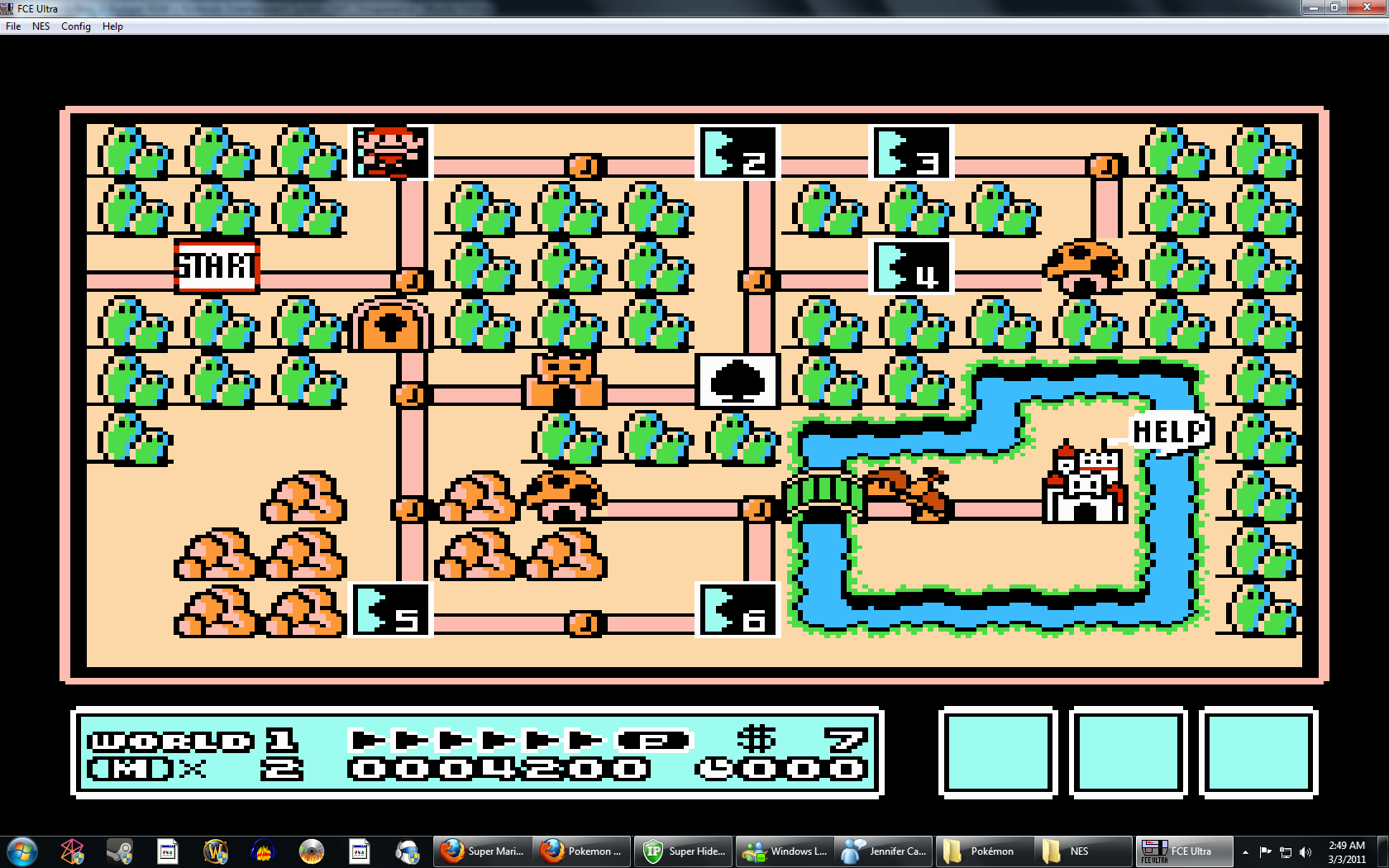 Super Mario Bros  3 (USA) ROM < NES ROMs | Emuparadise