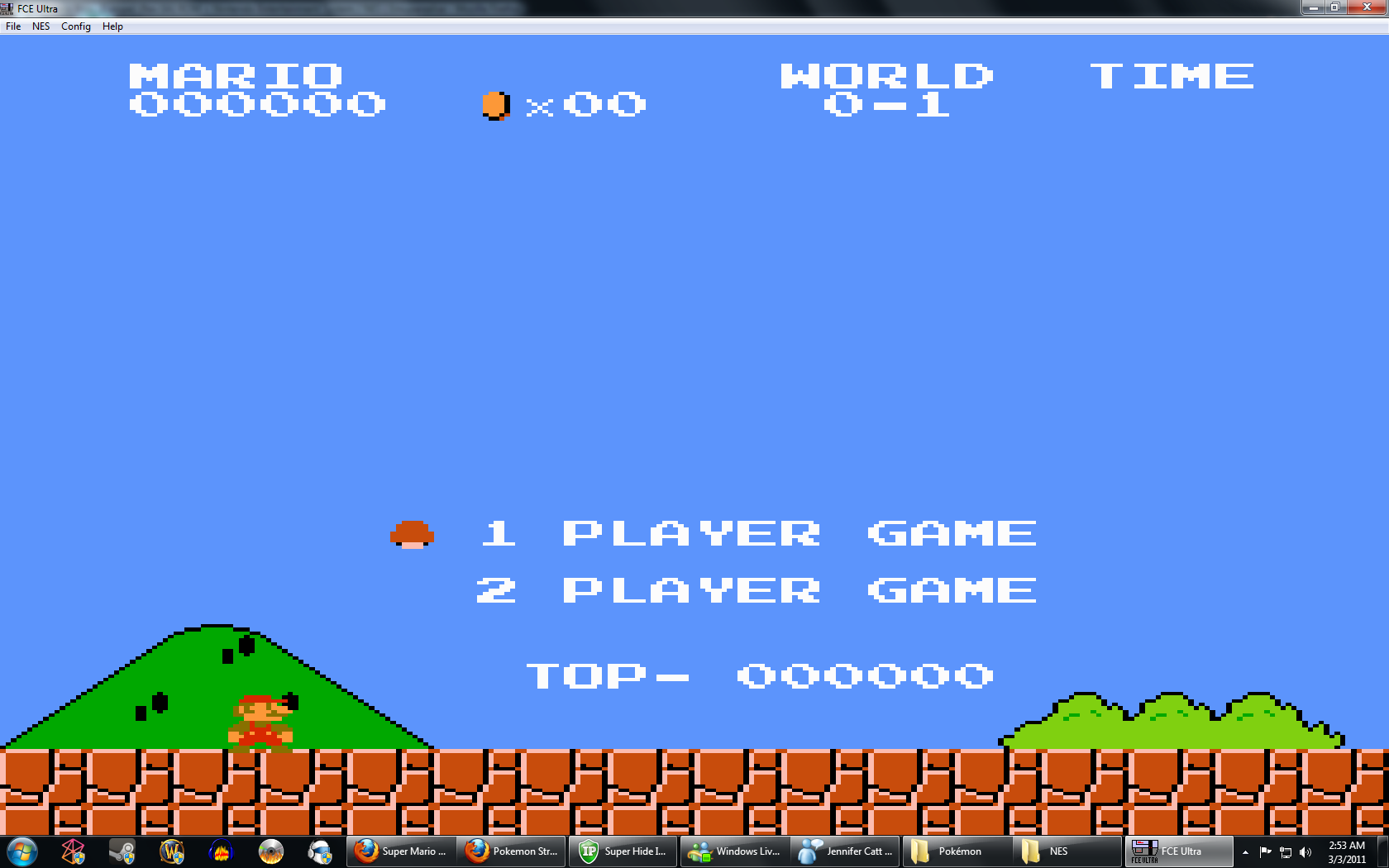 Super Mario Bros  (Japan, USA) ROM < NES ROMs | Emuparadise