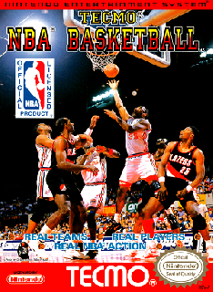 Screenshot Thumbnail / Media File 1 for Tecmo NBA Basketball (USA)