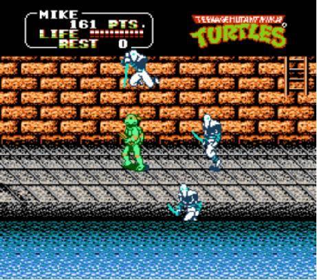 Teenage Mutant Ninja Turtles Ii The Arcade Game Usa Rom Nes