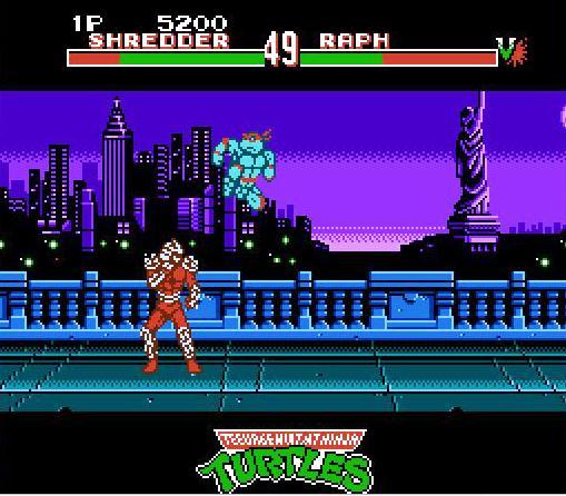 Teenage Mutant Ninja Turtles Tournament Fighters Usa Rom Nes