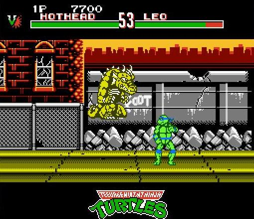 Teenage Mutant Ninja Turtles - Tournament Fighters (USA) ROM < NES