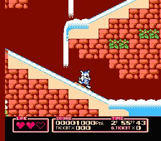 Screenshot Thumbnail / Media File 1 for Tiny Toon Adventures 2 - Trouble in Wackyland (USA)