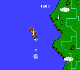 Screenshot Thumbnail / Media File 1 for TwinBee (Japan)