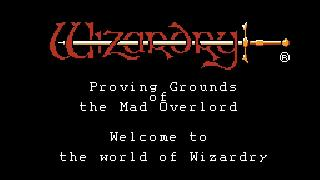 Screenshot Thumbnail / Media File 1 for Wizardry - Proving Grounds of the Mad Overlord (USA)