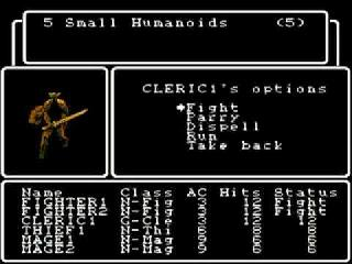 Screenshot Thumbnail / Media File 1 for Wizardry - The Knight of Diamonds (USA)