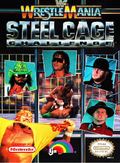 Screenshot Thumbnail / Media File 1 for WWF Wrestlemania Steel Cage Challenge (USA)
