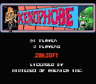 Screenshot Thumbnail / Media File 1 for Xenophobe (USA)