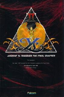 Screenshot Thumbnail / Media File 1 for Ys II - Ancient Ys Vanished - The Final Chapter (Japan)