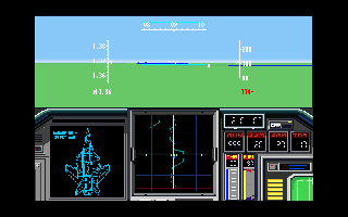 Screenshot Thumbnail / Media File 1 for Air Combat II Yuugekiou II (1990)(System Soft)(Disk 2 of 2)(User)