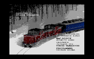 Screenshot Thumbnail / Media File 1 for A Ressha De Ikou II (1988)(Artdink)(Disk 1 of 2)