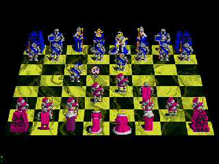 Screenshot Thumbnail / Media File 1 for Battle Chess (1989)(Pack-In-Video)(Disk 1 of 2)(Disk A)