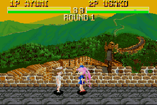 Screenshot Thumbnail / Media File 1 for Bishoujo Senshi Lady Fighter v1.00 (1993)(Sprite)