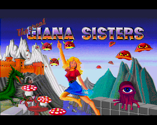 Screenshot Thumbnail / Media File 1 for Great Giana Sisters, The