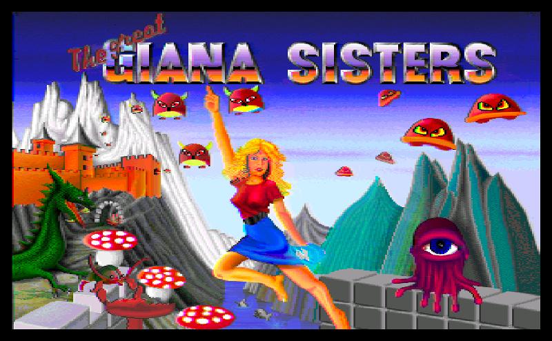 Great Giana Sisters, The ROM < Amiga ROMs   Emuparadise
