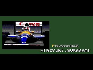 Screenshot Thumbnail / Media File 1 for F1 Circus '91 - World Championship (Japan)