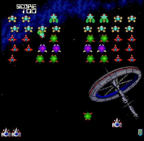 Galaga '88 (Japan) ROM < TG16 ROMs | Emuparadise