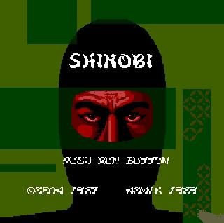 Screenshot Thumbnail / Media File 1 for Shinobi (Japan)