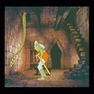 Screenshot Thumbnail / Media File 1 for Dragon's Lair (U)