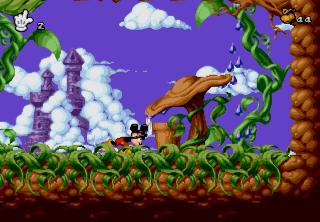 Screenshot Thumbnail / Media File 1 for Mickey Mania - The Timeless Adventures Of Mickey Mouse (U)