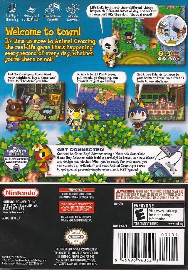 Animal Crossing ISO < GCN ISOs | Emuparadise