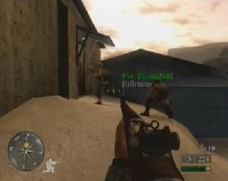 Screenshot Thumbnail / Media File 1 for Call of Duty 2 Big Red One