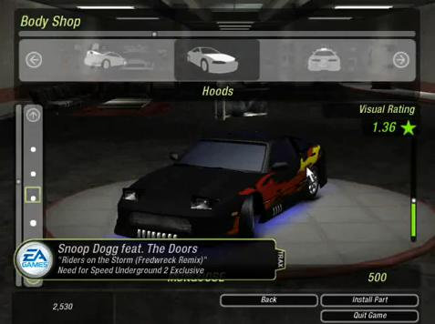 Screenshot Thumbnail Media File 3 For Need Speed Underground 2