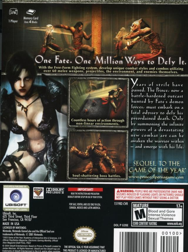 prince of persia warrior within iso psp
