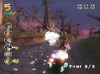 Screenshot Thumbnail / Media File 1 for Shrek Smash N Crash Racing