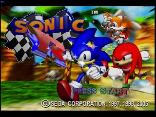 Screenshot Thumbnail / Media File 1 for Sonic Gems Collection