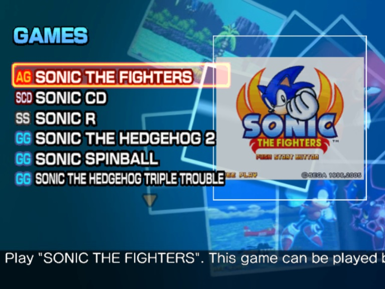 Sonic Gems Collection ISO