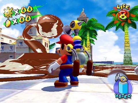 Super Mario Sunshine ISO < GCN ISOs | Emuparadise