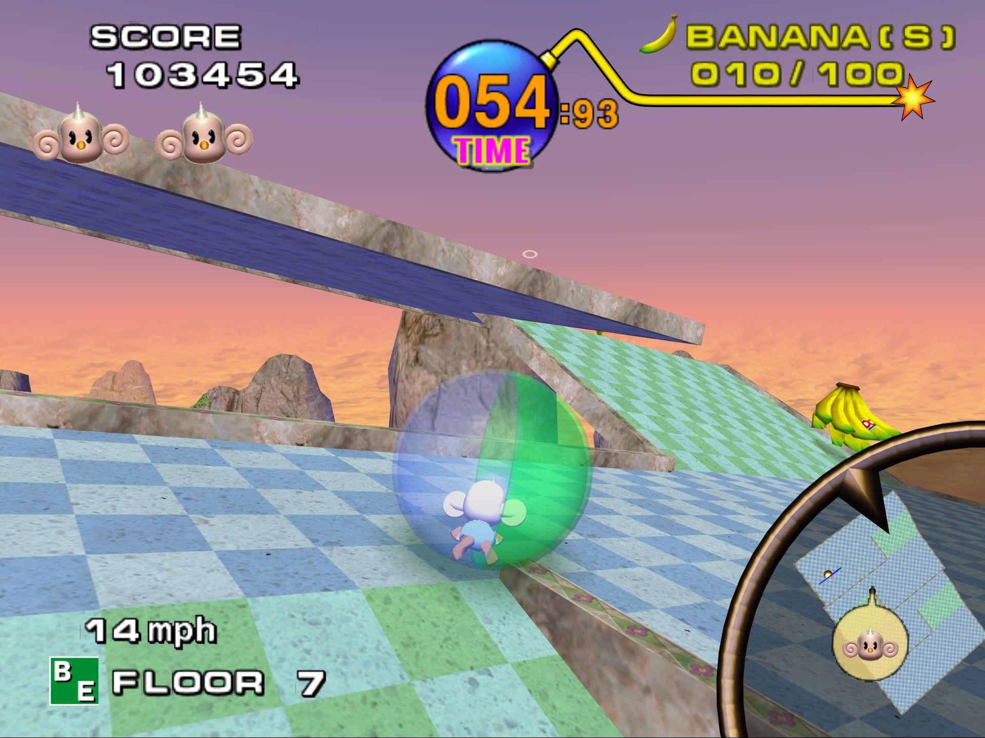 Super Monkey Ball ISO < GCN ISOs | Emuparadise