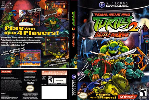 скачать игру Teenage Mutant Ninja Turtles 2 Battle Nexus через торрент - фото 8
