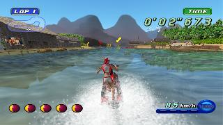 Screenshot Thumbnail / Media File 1 for Wave Race Blue Storm