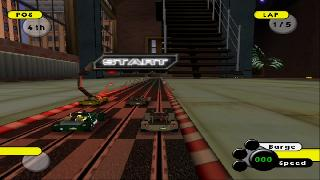 Screenshot Thumbnail / Media File 1 for Grooverider Slot Car Thunder