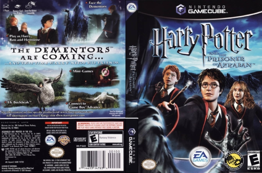 Harry Potter And The Prisoner Of Azkaban Iso Gcn Isos Emuparadise