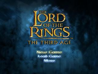 Screenshot Thumbnail / Media File 1 for Lord of the Rings, The - The Third Age (USA) (Disc 1)