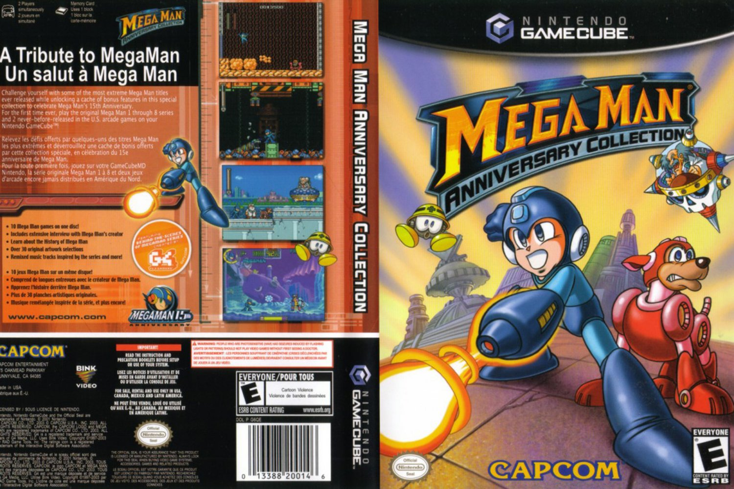 Mega Man Anniversary Collection ISO < GCN ISOs | Emuparadise
