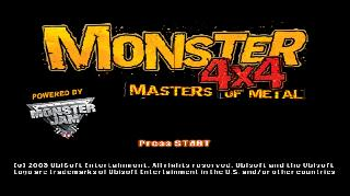 Screenshot Thumbnail / Media File 1 for Monster 4x4 Masters Of Metal