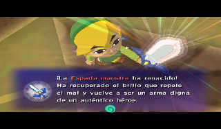 Screenshot Thumbnail / Media File 1 for Legend of Zelda, The - The Wind Waker (Europe) (En,Fr,De,Es,It)