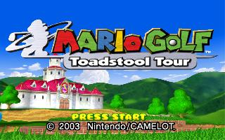 Screenshot Thumbnail / Media File 1 for Mario Golf - Toadstool Tour (Europe) (En,Fr,De,Es,It)