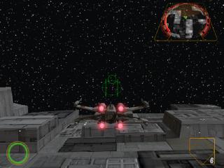 Screenshot Thumbnail / Media File 1 for Star Wars - Rogue Squadron II - Rogue Leader (Europe)