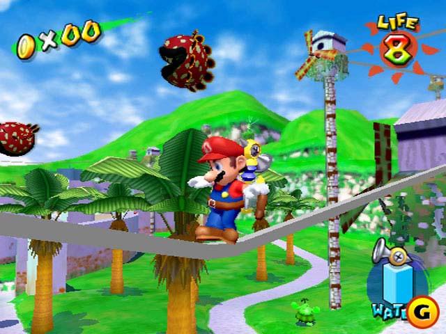 Super Mario Sunshine GameCube ISO