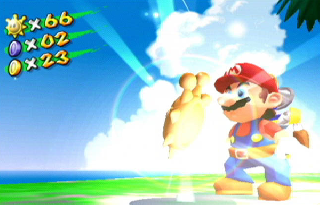 Screenshot Thumbnail / Media File 1 for Super Mario Sunshine (Europe) (En,Fr,De,Es,It)