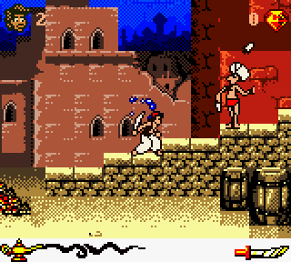 Screenshot Thumbnail / Media File 1 for Aladdin (Europe) (En,Fr,De,Es,It,Nl)