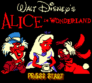 Screenshot Thumbnail / Media File 1 for Alice in Wonderland (Europe) (En,Fr,De,Es)