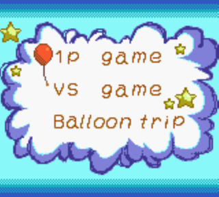 Screenshot Thumbnail / Media File 1 for Balloon Fight GB (Japan) (NP)
