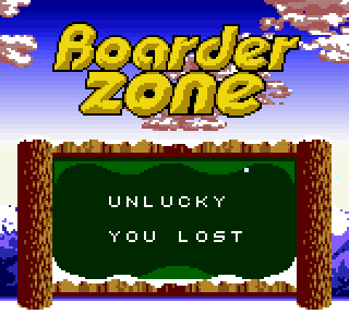 Screenshot Thumbnail / Media File 1 for Boarder Zone (USA)